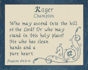 name blessings - roger 2
