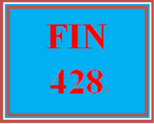 FIN 428 Week 3 Quiz   eBooks   Education