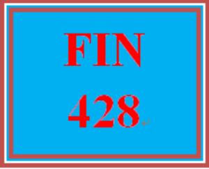 FIN 428 Week 4 Quiz | eBooks | Education