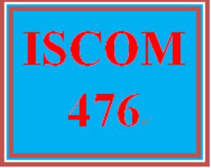 ISCOM 476 Week 1 Article Analysis | eBooks | Education