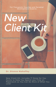 new client kit: for therapists, coaches and  personal development experts