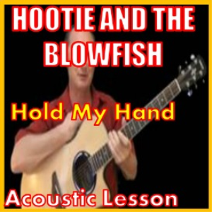 learn to play hold my hand by hootie and the blowfish