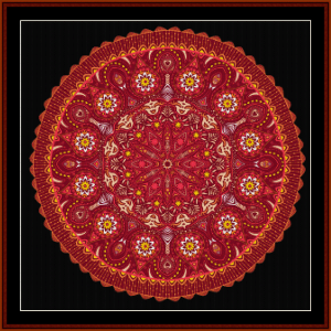 Fractal 623 cross stitch pattern by Cross Stitch Collectibles | Crafting | Cross-Stitch | Wall Hangings