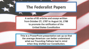 the federalist no. 70