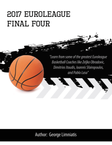 2017 euroleague final four playbook