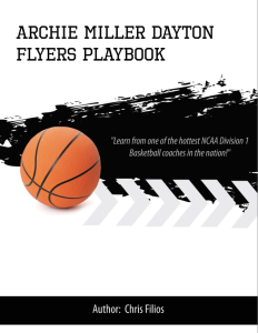Archie Miller Dayton Flyers Playbook | eBooks | Sports