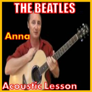 learn to play anna by the beatles