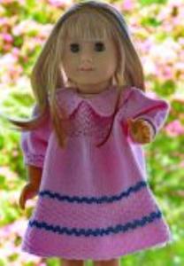 dollknittingpatterns modell 0045d eline - jurkje, broekje en sokjes-(nederlands)