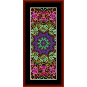 Fractal 622 Bookmark by Cross Stitch Collectibles | Crafting | Cross-Stitch | Other