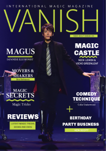 vanish magic magazine 34