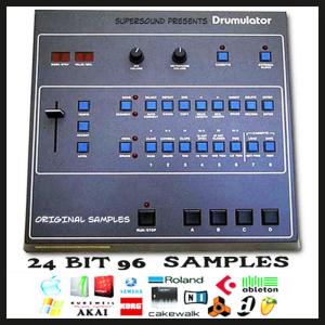 emu drumulator analog vintage 24 bit 96 24bit retro beats sample kit fl studio