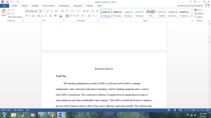 Research Exercise | Documents and Forms | Research Papers