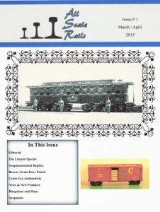 all scale rails issue #1 march april 2015