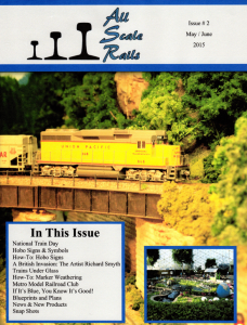 all scale rails issue #2 may / june 2015