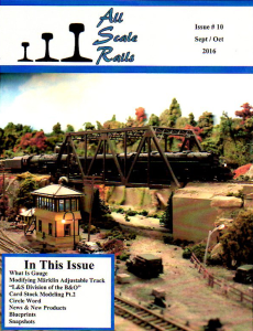 all scale rails issue #10 september / october 2016