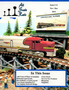 all scale rails issue #11 november / december 2016