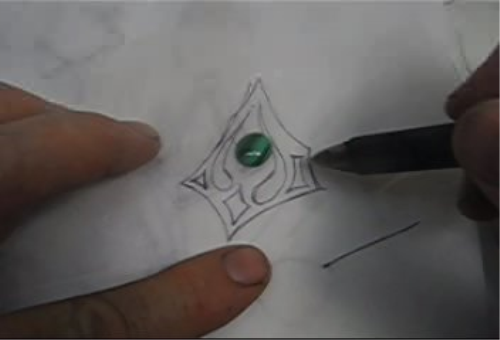 First Additional product image for - Designing Jewelry for a Profit 3, Polishing Can Kill Your Profits, To Draw or Not taught by Don Norris, Silversmithing for jewelry making.