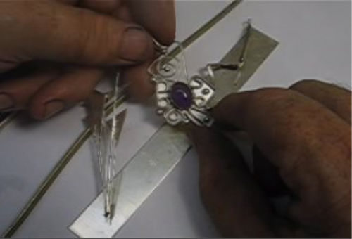 Second Additional product image for - Designing Jewelry for a Profit 3, Polishing Can Kill Your Profits, To Draw or Not taught by Don Norris, Silversmithing for jewelry making.