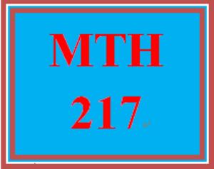 mth 217 week 2 criminal justice scenario