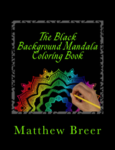the black background mandala coloring book pdf