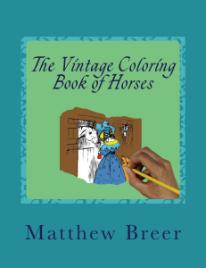 the vintage coloring book of horses pdf