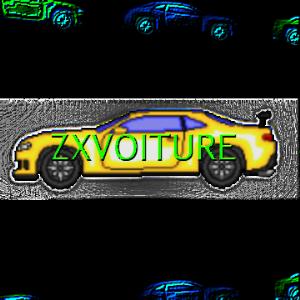 side view pixel car - camaro z28
