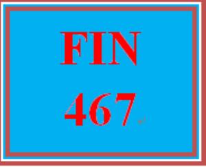 fin 467 week 3 study questions
