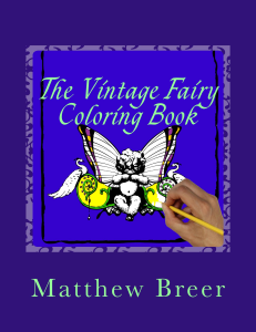 the vintage fairy coloring book