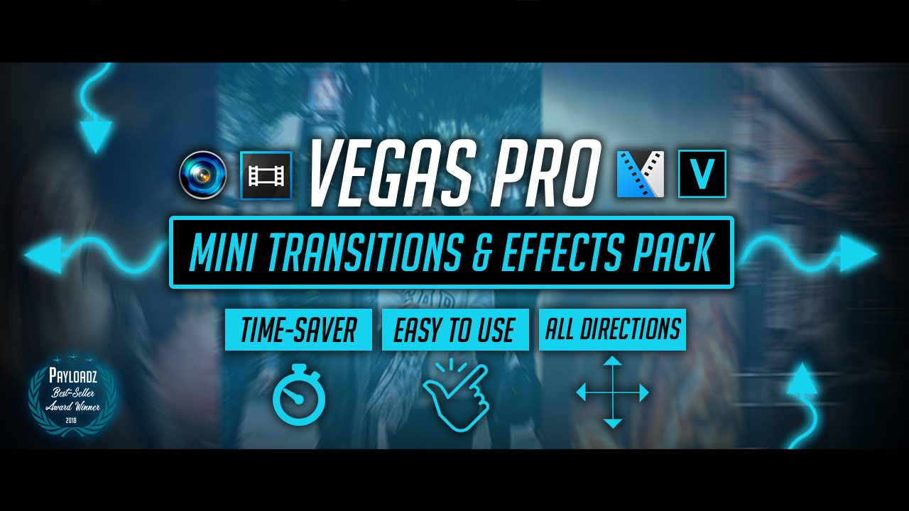 Sony vegas pro 11, 12 and 13 mega color correction effects pack.