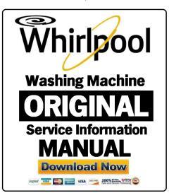 Whirlpool AWE 5100 Washing Machine Service Manual   eBooks   Technical