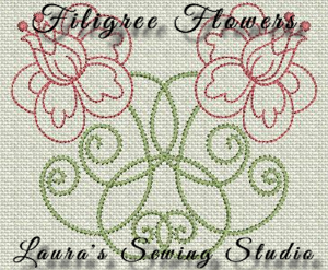 filigree flowers dst