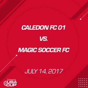 boys u16 a-flight: caledon fc 01 v. magic soccer fc