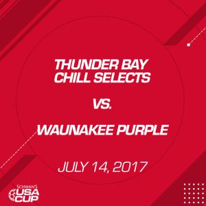 girls u15 a-flight: thunder bay chill selects v. waunakee purple