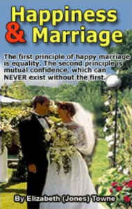 Happiness and Marriage by Elizabeth Towne | eBooks | Self Help