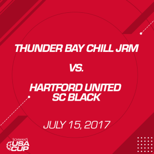 boys u16: thunder bay chill jrm v. hartford united sc black