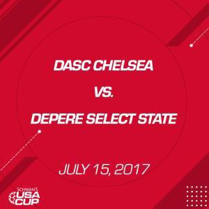 girls u13: dasc chelsea v. depere select state