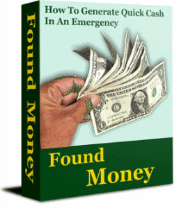 found money: how to generate quick cash  in an emergency by zhao