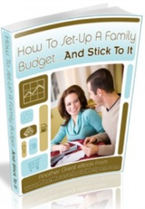 how to setup a family budget...and stick to it by zhao