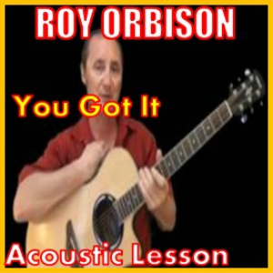 learn to play you got it by roy orbison