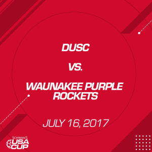 girls u16 final: dusc v. waunakee purple rockets