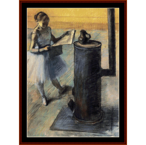 Dancer Resting - Degas cross stitch pattern by Cross Stitch Collectibles   Crafting   Cross-Stitch   Wall Hangings