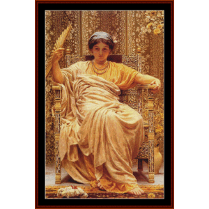 A Reverie, 1892 - AJ Moore cross stitch pattern by Cross Stitch Collectibles | Crafting | Cross-Stitch | Wall Hangings
