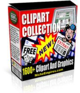 1600 Clip Art And Sales Page Graphics | Photos and Images | Clip Art