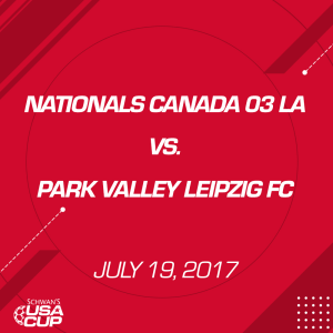 boys u14 gold: nationals canada 03 la v. park valley leipzig fc