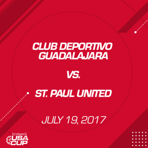 boys u14 gold: club deportivo guadalajara v. st. paul united