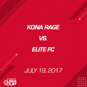 boys u14 gold: kona rage v. elite fc