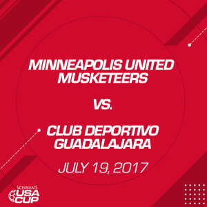 boys u12 11v11: minneapolis united musketeers v. club deportivo guadalajara