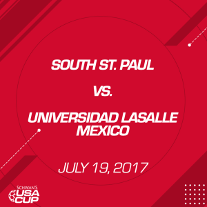 girls u19 silver: south st. paul v. universidad lasalle mexico