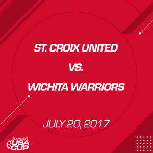 boys u16 silver: st. croix united v. wichita warriors