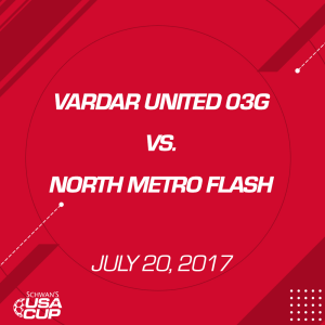 girls u14 gold: vardar united 03g v. north metro flash